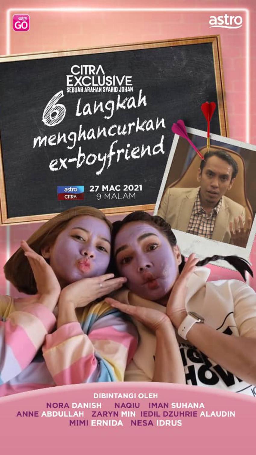 6 Langkah Menghancurkan Ex-boyfriend