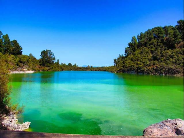 O Lago Ngakoro