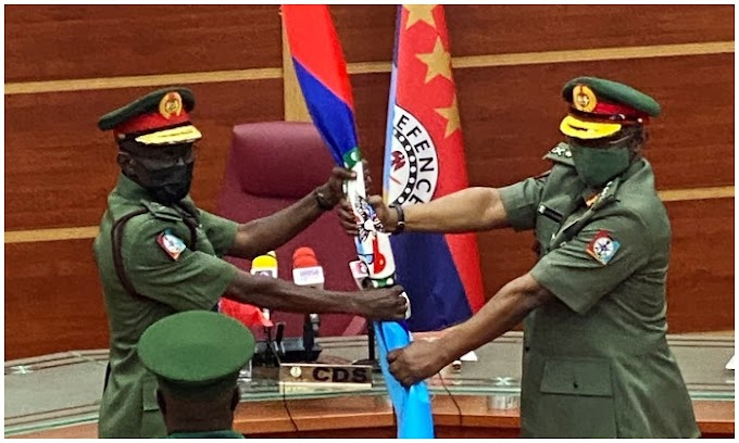 BREAKING: Irabor Resumes As Chief Of Defence Staff, Shuns National Assembly Approval