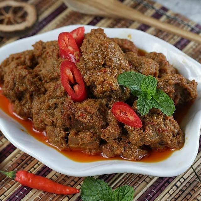Resep Memasak Rendang Daging Sapi Empuk Spesial Padang