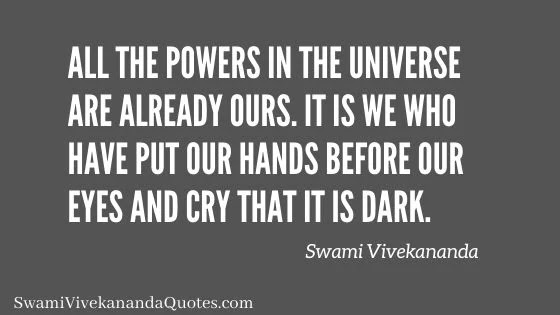 Powers in the Universe | Swami Vivekananda Quotes