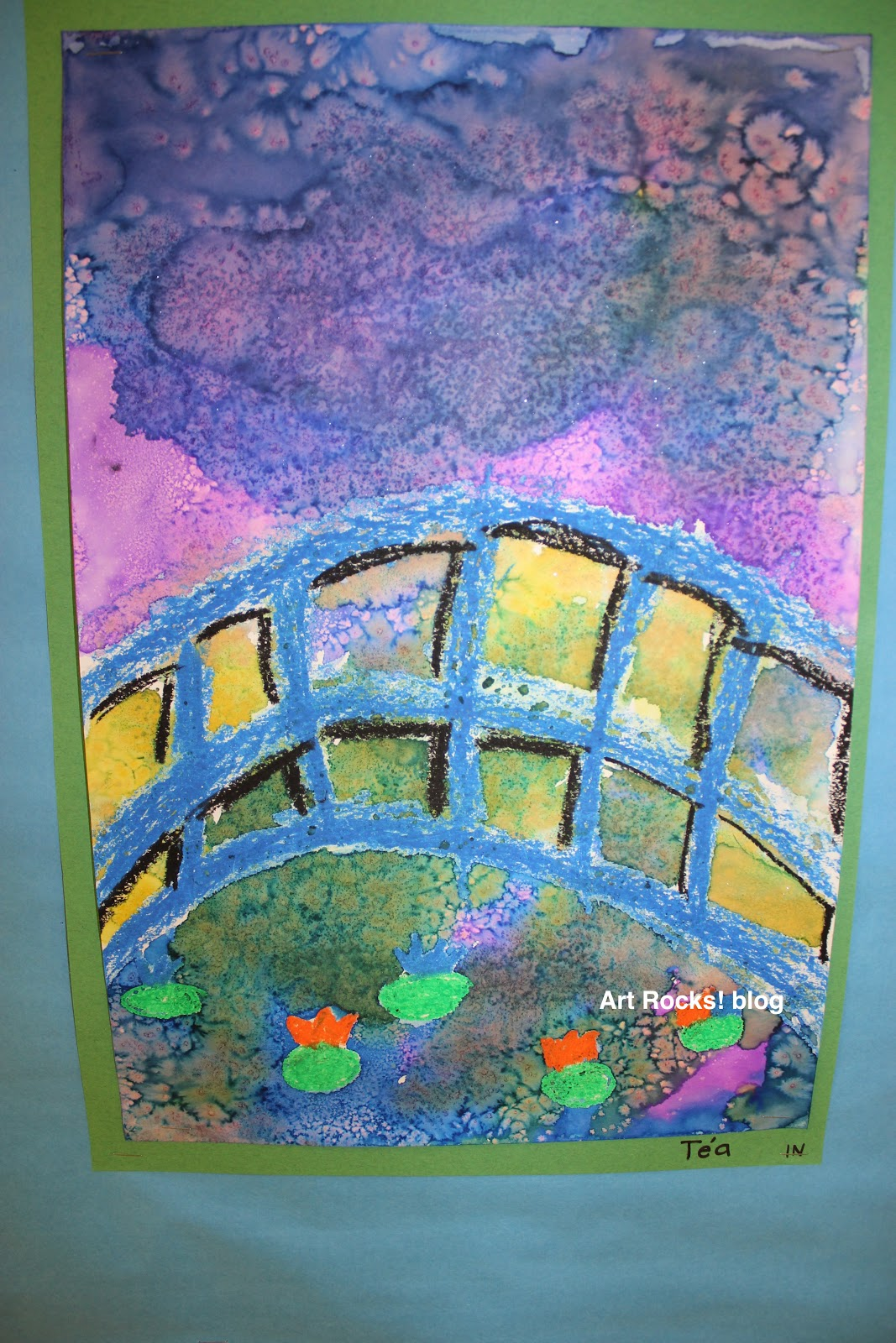 Art Rocks Grade 1 Monet Bridge