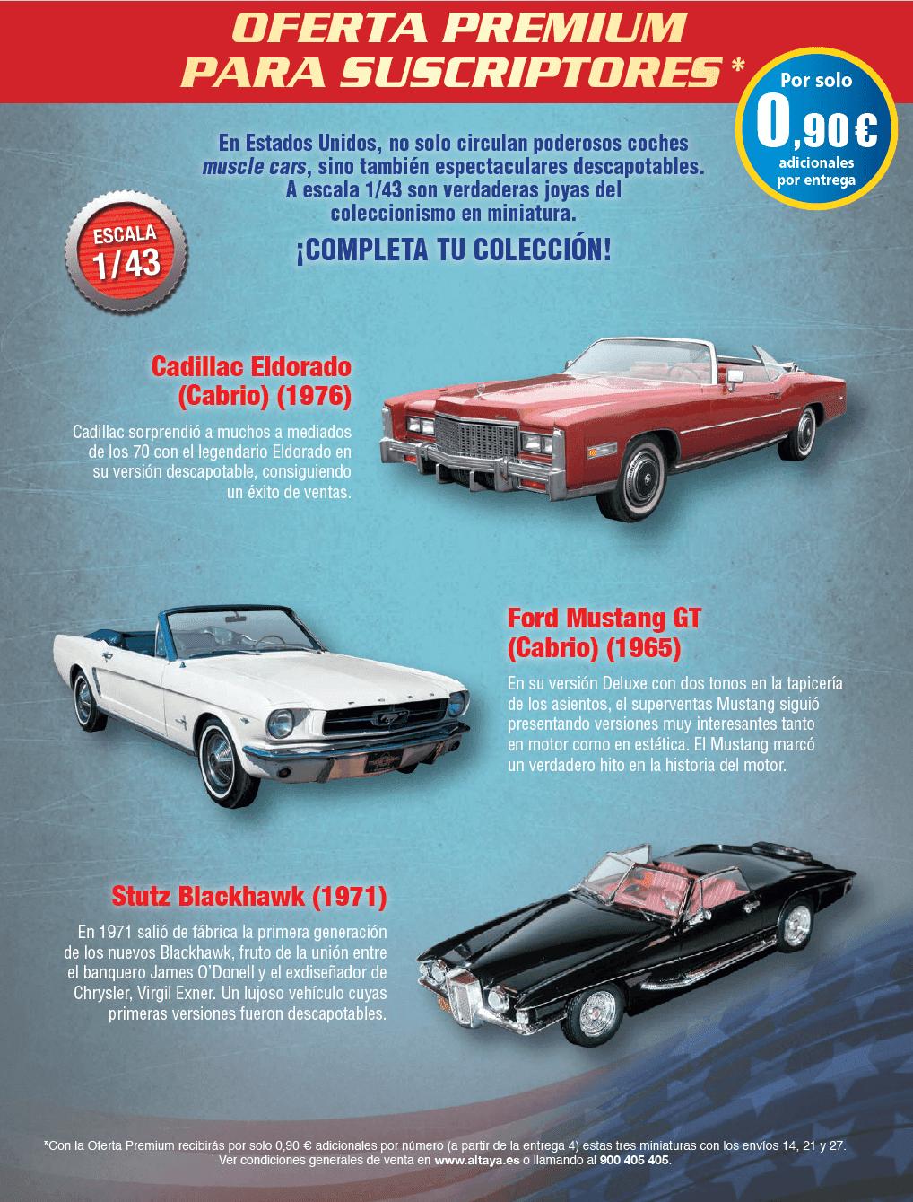 american cars coleccion altaya suscripcion premium