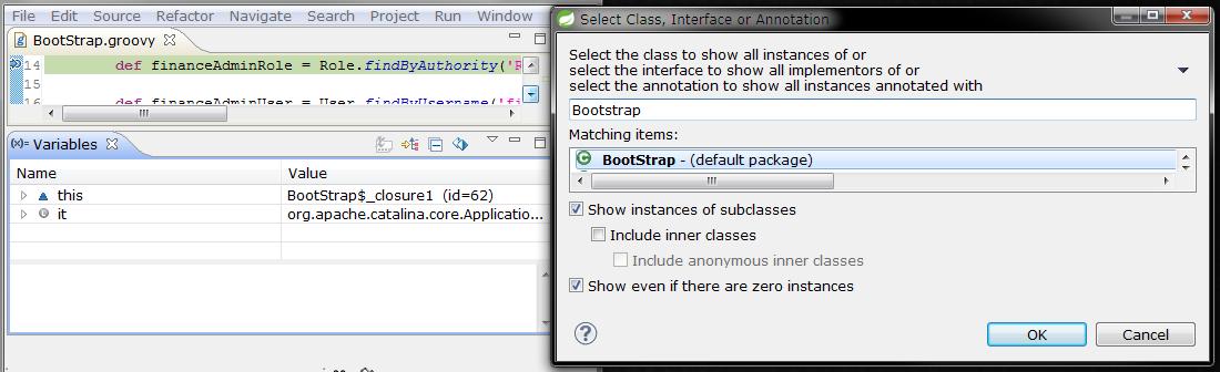 Sandip Chitale's Blog: Eclipse: Show All Instances of Java Type