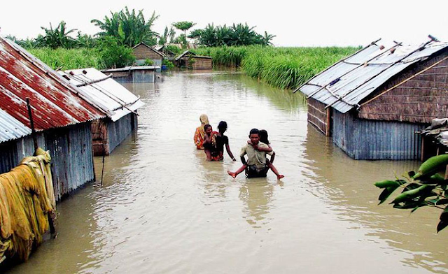 The flood in Bangladesh has caused the death of 8 people so far