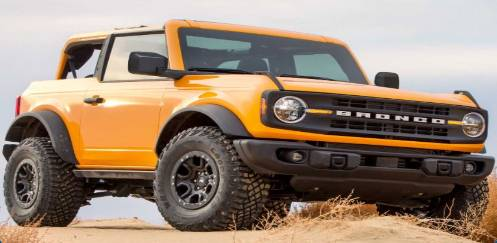 Which year did the full-size Ford Bronco end production?