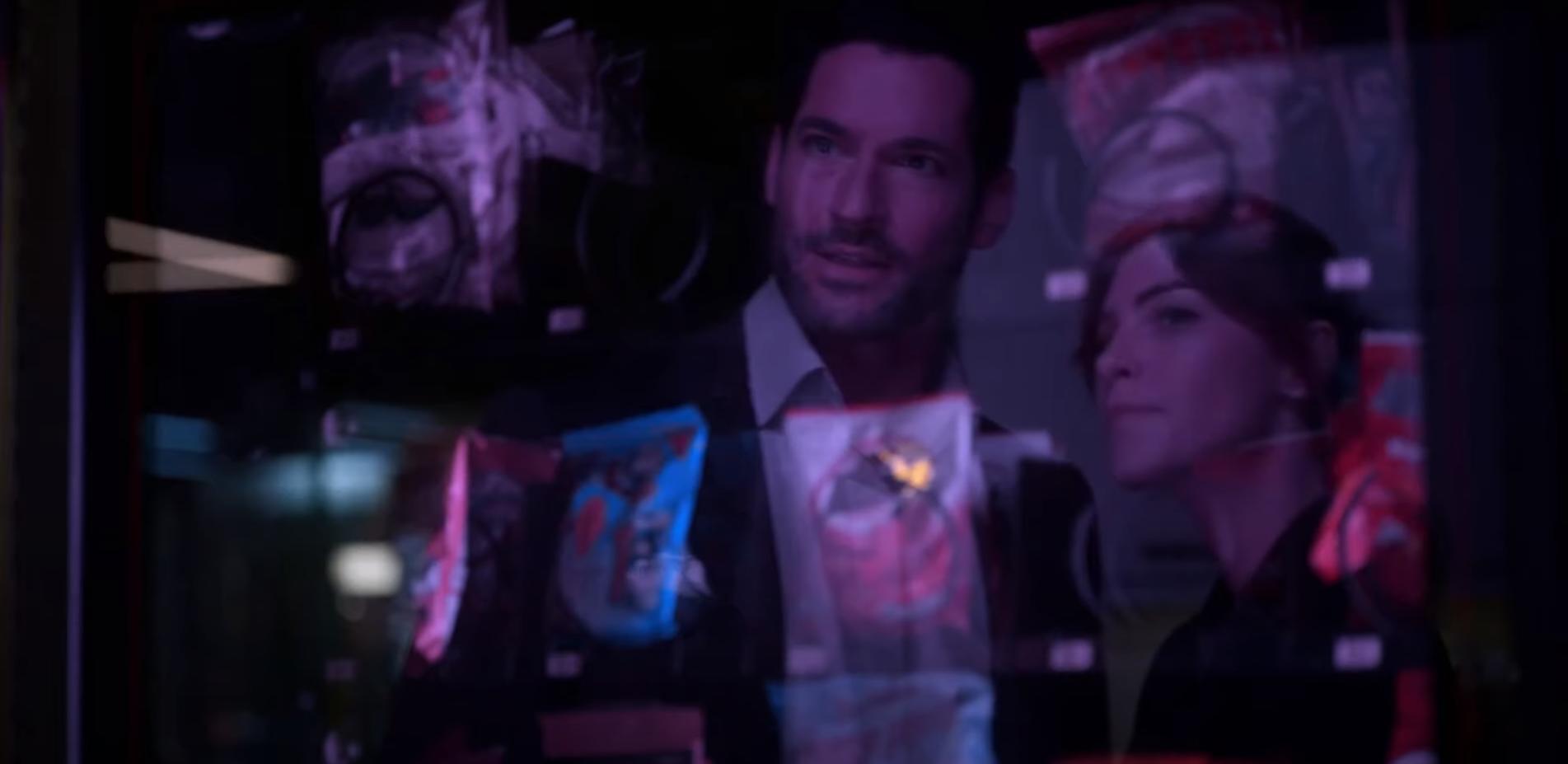 Скриншот из сериала Люцифер 5 сезон Люцифер и Хлоя