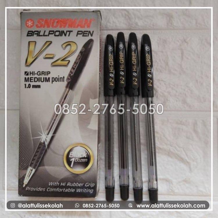 ingin beli pulpen yang nyaman, pulpen snowman v2 di sini!