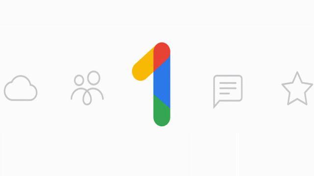 este es el nuevo almacenamiento en la nueva de Google, Google One