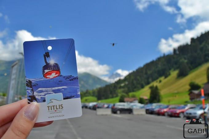 W szwajcarskich Alpach - Titlis