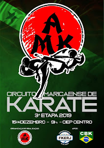 Circuito Maricaense de Karate - 3ª Etapa