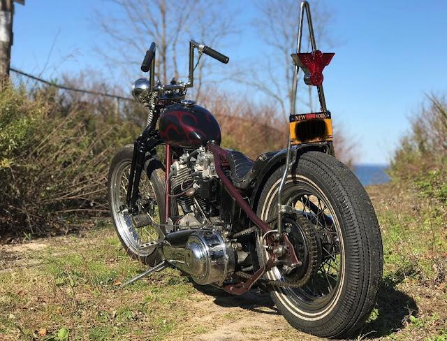 Harley Davidson Shovelhead By Junkyard James Hell Kustom