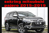 sekring mitsubishi pajero Sport 2015-2019 lengkap