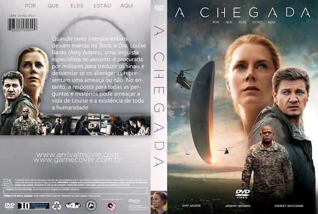 Capa DVD A Chegada [Exclusiva]