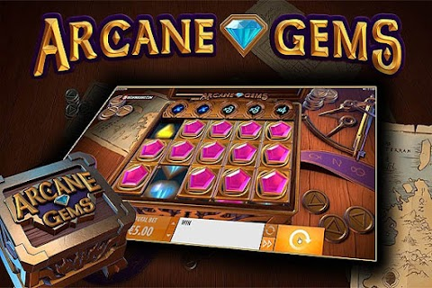 Main Slot Gratis Arcane Gems (Quickspin) 96.05% RTP