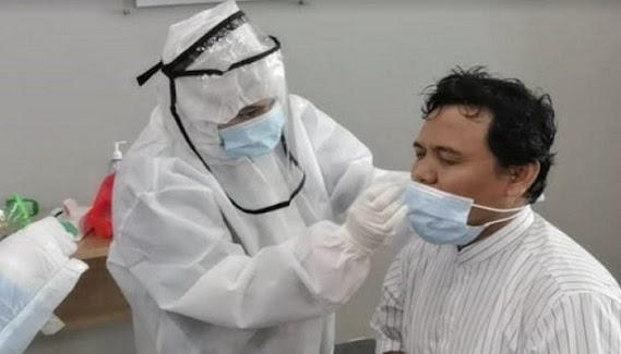 Jadi Tersangka Gus Nur Jalani Swab Test di Gedung Bareskrim Polri