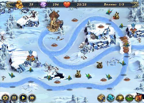 لعبة الدفاع عن المملكة Royal Defense الاصدار الاول