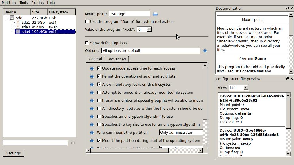 สร้าง mount point ง่ายๆ บน Linux ด้วย MountManager | 101's sheep