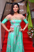 Anisha Ambrose sizzles in cute Green Anarkali Dress at Fashion TV F Club Saloon Launch ~  Exclusive 009.JPG