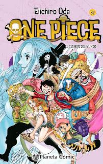 """Reseña de """"One Piece"""" (ワンピース) vol.82 de Eiichiro Oda - Planeta Cómic"""