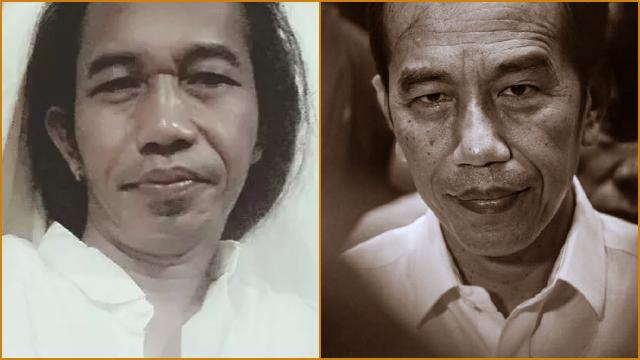 Wajahnya Mirip Jokowi, Akun Facebook Imron Gondrong Mendadak Viral