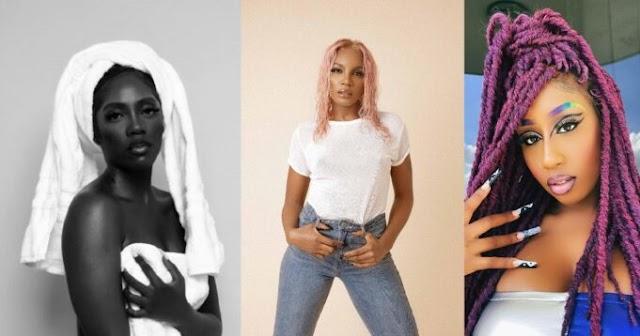 "Videos of Seyi Shay and Victoria Kimani accusing Tiwa Savage of ""selling pu$.$y"" (WATCH)"