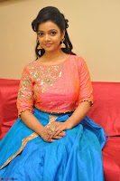 Nithya Shetty in Orange Choli at Kalamandir Foundation 7th anniversary Celebrations ~  Actress Galleries 090.JPG
