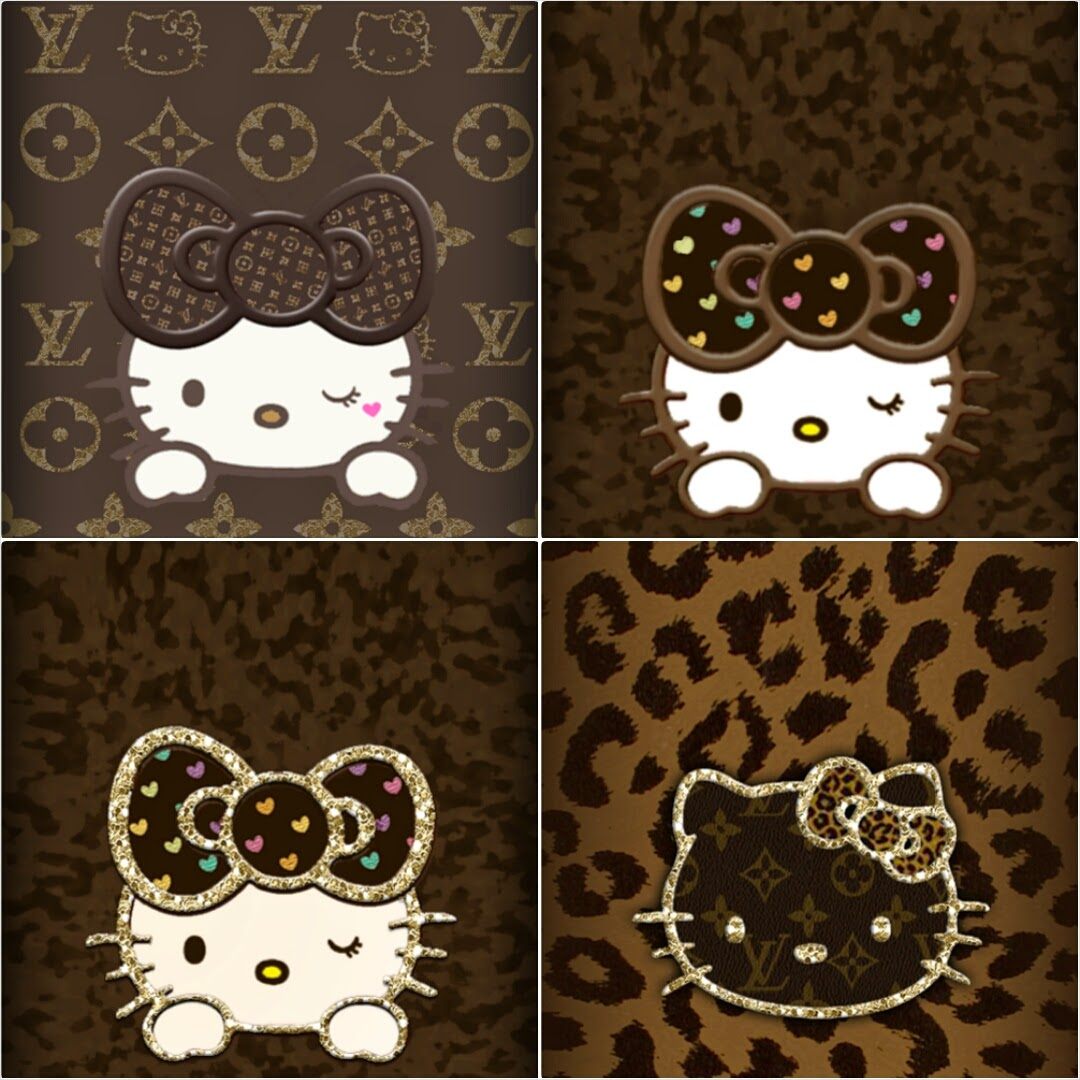Love Pink Brown Hellokitty Wallpapers 4