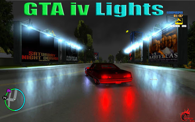 GTA San Andreas GTA 4 Lights Latest Version