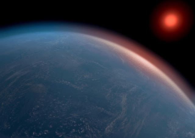 Large exoplanet could have the right conditions for life