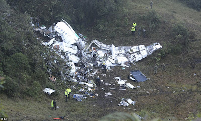 Plane carrying 81 crashes in Columbian, 6 survive