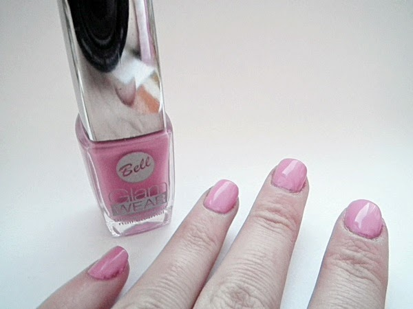 Bell Glam Wear Glossy colour, manicure, wielokolorowy róż, makeup, colour fun
