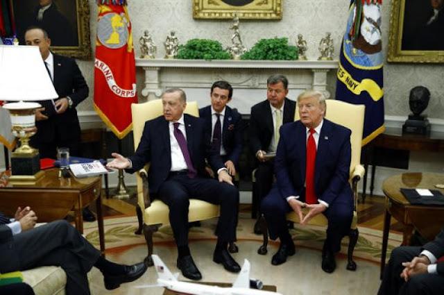 Τραμπ - Ερντογάν: «Συζητάμε εναλλακτικές λύσεις για τα F-35»