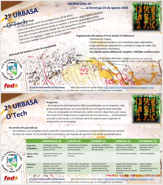 Flyer O'Tech 2020 Urbasa