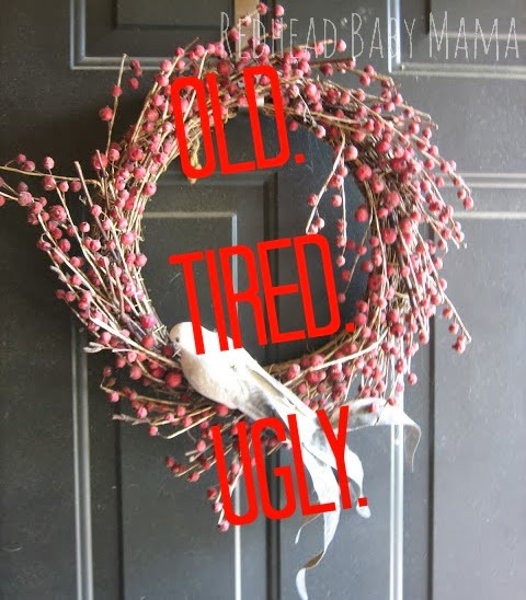 Redhead Baby Mama - Old Ugly Wreath