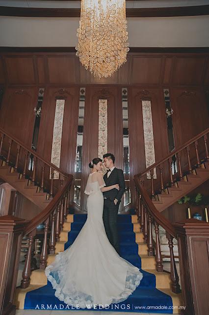 European wedding Malaysia