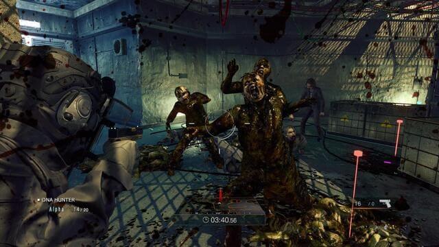 """Umbrella Corps [a] هي لعبة إطلاق نار تكتيكية متعددة اللاعبين تم تطويرها ونشرها بواسطة Capcom لـ Microsoft Windows و PlayStation 4. وهي عرض منفصل لسلسلة Resident Evil وتم إصدارها في جميع أنحاء العالم في يونيو 2016. تلقت اللعبة مراجعات سلبية من النقاد جزء اللاعب الفردي ، """"The Experiment"""" ، يتم في عامي 2012 و 2013. ويتبع وكيلاً يحمل الاسم الرمزي 3A-7. تم الكشف عن أن المنظمة التي ينتمي إليها ، شركة Umbrella Co ، تحمل الاسم الكامل لـ """"Umbrella Corporation"""" في Resident Evil 7: Biohazard ؛ منظمة جديدة تستخدم اسم Umbrella. يتم إرساله في مهام من قبل رؤسائه من أجل اختبار معدات جديدة مثل Zombie Jammer. بمجرد نجاح الاختبار ، يحاول رؤساؤه قتله عن طريق إرساله في مهام أكثر خطورة. تنتهي التجربة مع 3A-7 للتغلب على جميع الصعاب والبقاء على قيد الحياة لجميع المهام ، وإخافة رؤسائه. من الواضح أن 3A-7 هو عامل HUNK أو بنفس الخطورة ويمتلك نفس المستوى من المهارة. كما تم التلميح إليه بشدة عبر مقاطع صوتية يتم تشغيلها بشكل عشوائي في نتيجة المباريات متعددة اللاعبين ، بالإضافة إلى تلميحات من التجربة بأن القائد (مسؤول قوي رفيع المستوى في شركة Umbrella Corporation) هو استنساخ لألبرت ويسكر."""