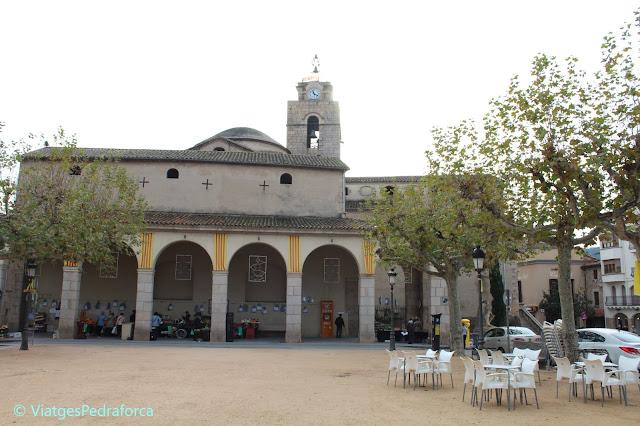 La Selva, Girona, rutes per Catalunya