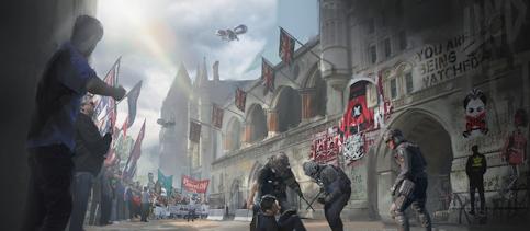 Les concept art de Watch Dogs Legion