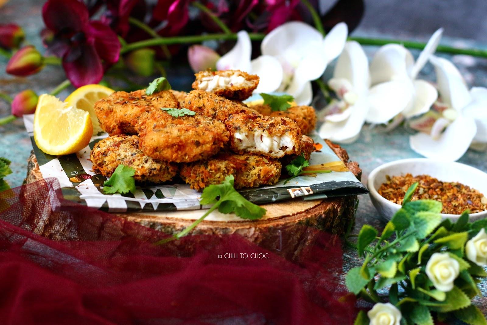 Spicy Fish Nuggets Recipe