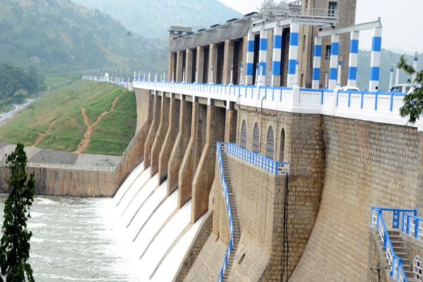 krp dam water level live status today