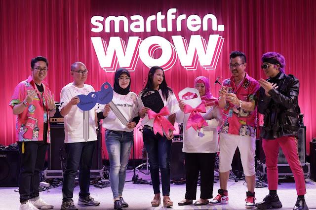 Smartfren Umumkan Pemenang Program Undian Smartfren WOW Tahap Kedua