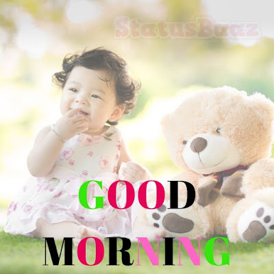 Good Morning Wishes Images Cute Babies