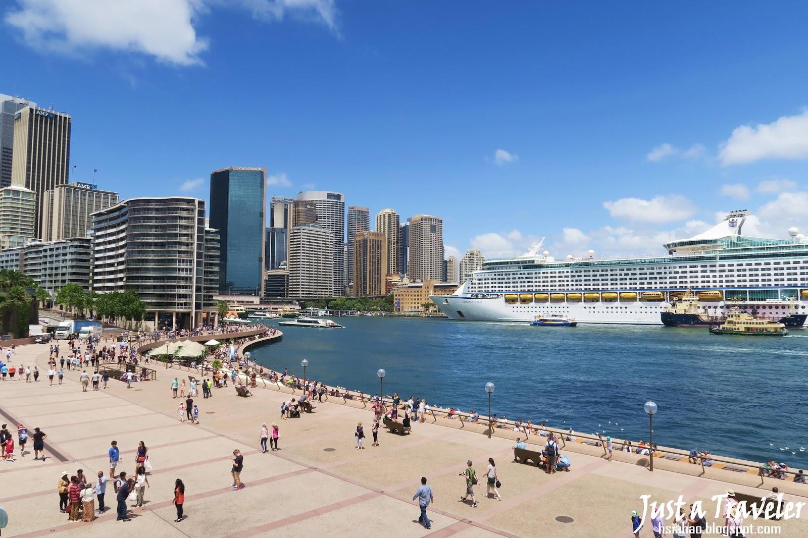 雪梨-景點-推薦-環形碼頭-Circular-Quay-歌劇院-Opera-House-旅遊-自由行-澳洲-Sydney-Tourist-Attraction-Travel-Australia