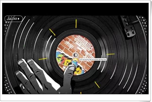 """""""Historia y técnicas del Hip Hop"""" (Actividad interactiva de Música de Secundaria)"""