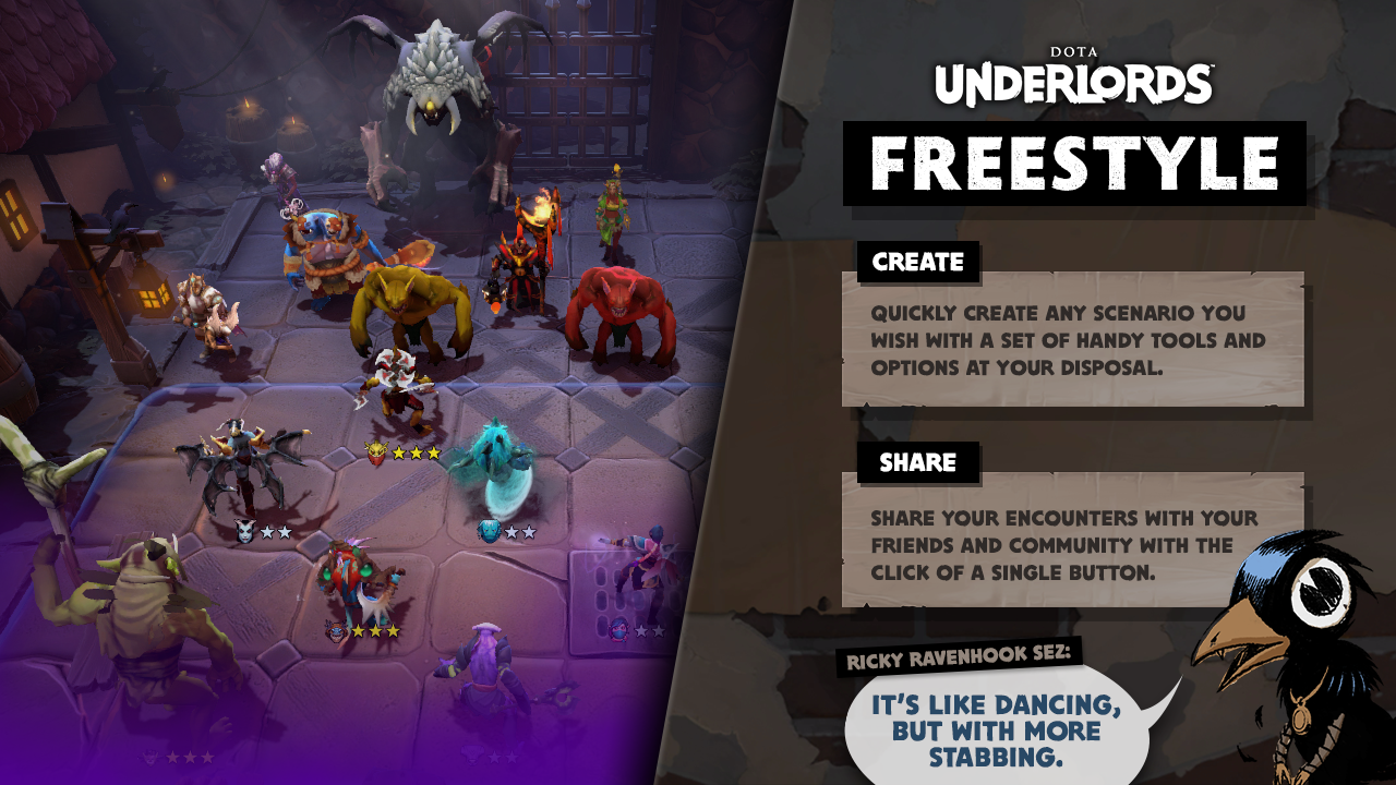 Mode Permainan Terbaru Underlords: Freestyle