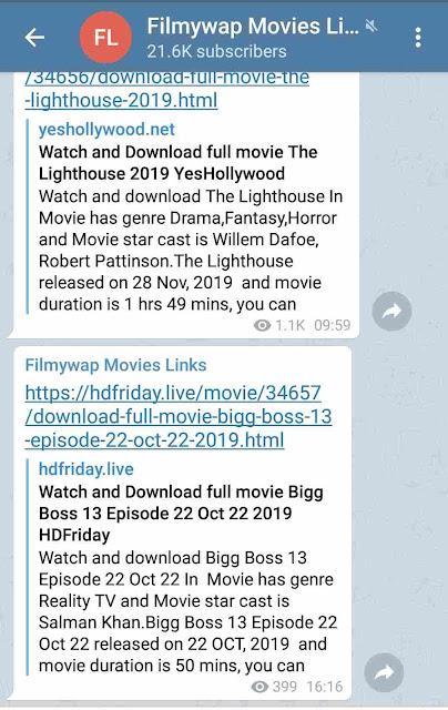 Filmywap 2019