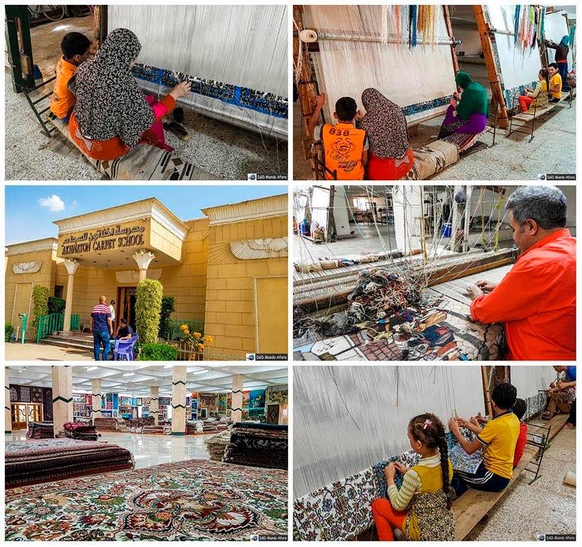 Escola de tapetes no Cairo - Diário de Bordo: 2 dias no Cairo