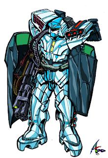AZX-003 Heavy Armor Dolph X