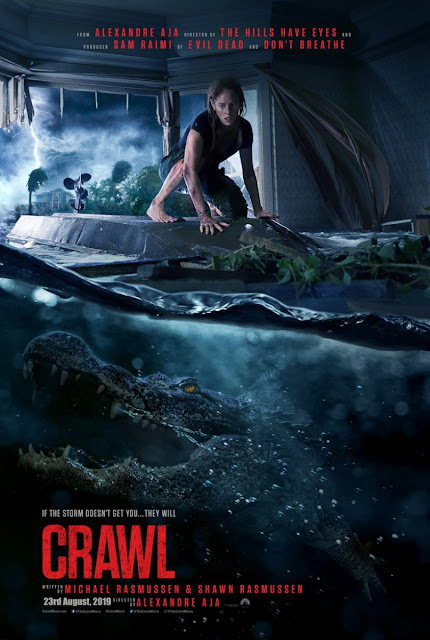 Crawl Movie : First look poster of horror-thriller